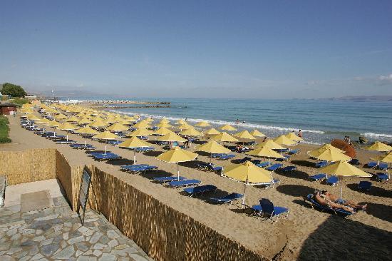 Mitsis Rinela Beach Resort & Spa : beach