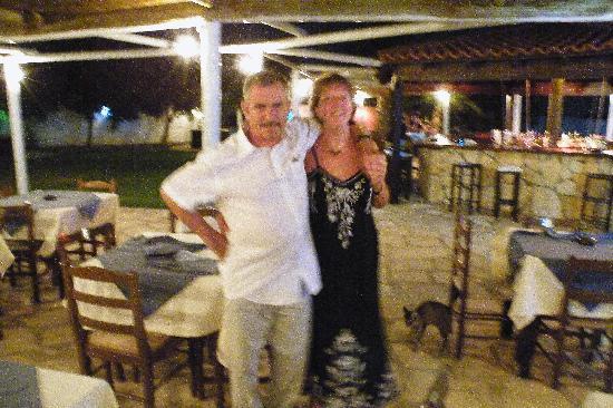 Protaras, Chipre: main resteraunt