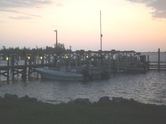 Sebastian, FL: A partial view of the marina