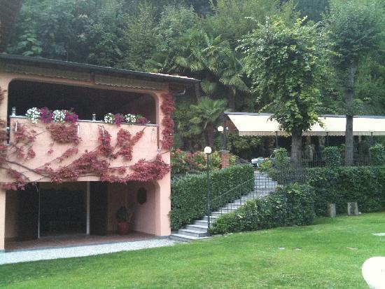 Hotel Terzo Crotto : terrazza e veranda estiva