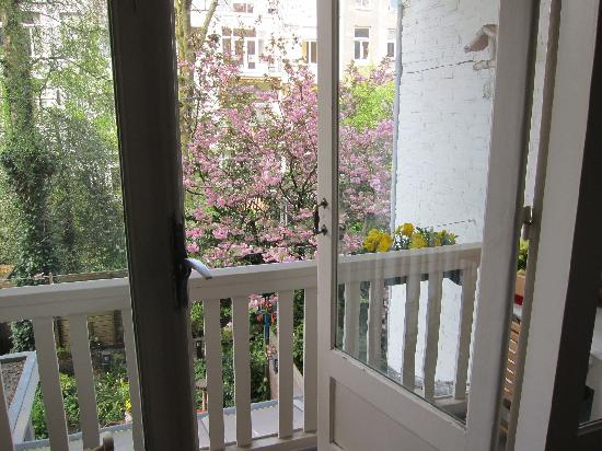 The Collector Bed & Breakfast: the balcony
