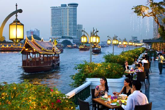 Mandarin Oriental, Bangkok: The View of The Chao Phraya River