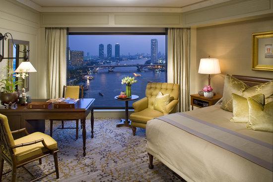 ماندارين أورينتال بانكوك: Deluxe Room at Mandarin Oriental Bangkok