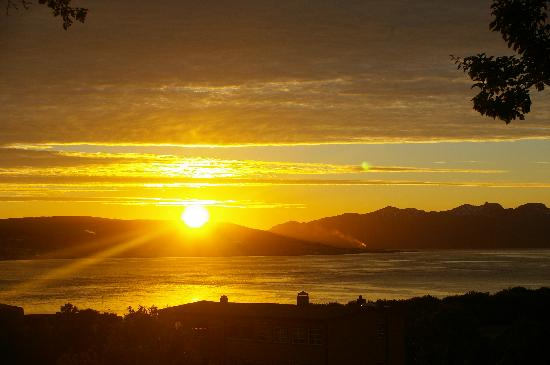 Tromso, Norway: midnight sun July 2010