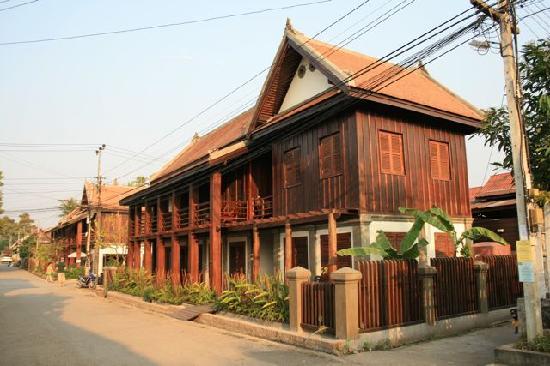 Ancient Luangprabang Inn: Hotelgebäude