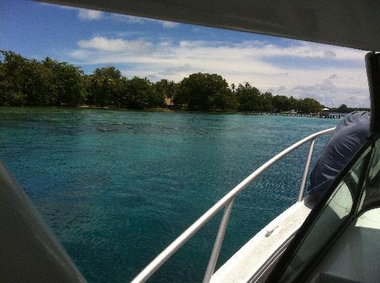 Tavanipupu Island Resort: Our first glimpse of paradise