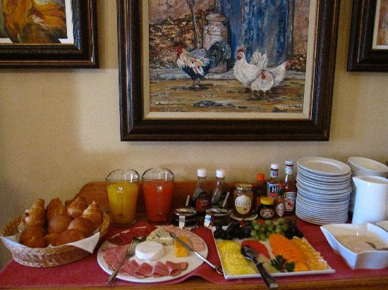 Montagu Vines Guesthouse: breakfast