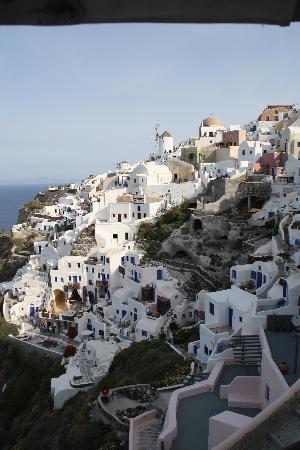 Art Maisons Luxury Santorini Hotels Aspaki & Oia Castle: view from room