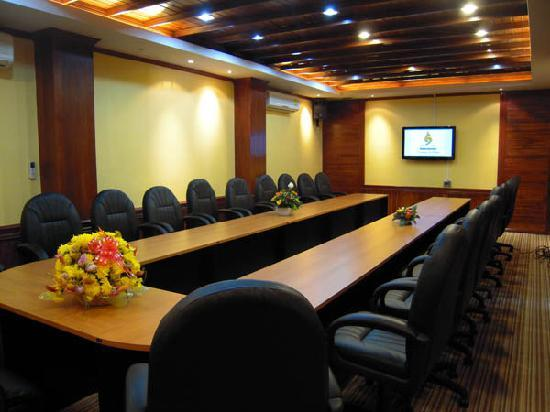 Oudomxay, Laos: VIP meeting room