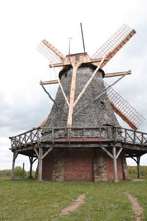LWL-Open-Air Museum Detmold (LWL Freilichtmuseum Detmold): Die Windmühle
