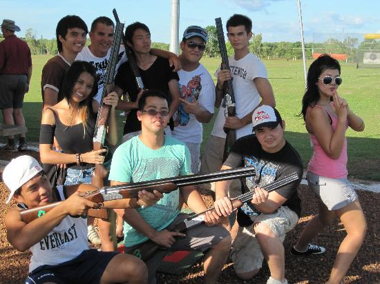 Flight Path Golf & Outdoor Recreation : Get your group together for the ultimate shooting game - Laser Clay Shooting!