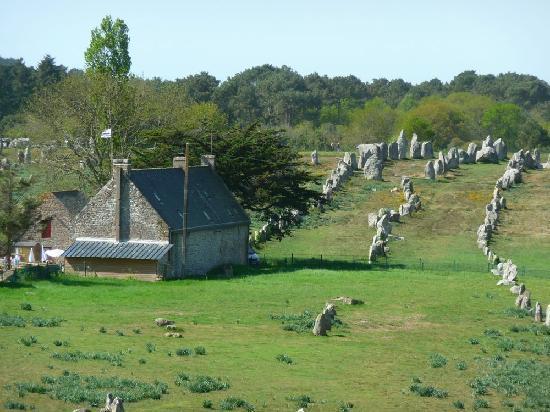 Megaliths of Carnac: Alignement de monolithes