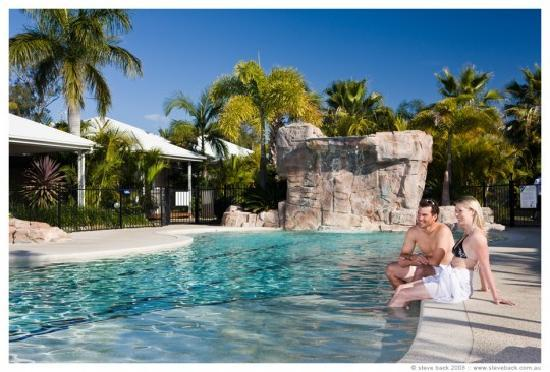NRMA Treasure Island Resort & Holiday Park: This is one of the great pools.