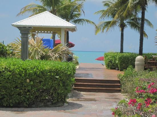 Royal West Indies Resort: view from the beach