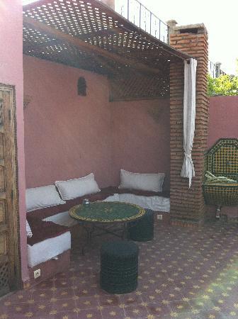 Dar Eden Marrakech medina: la terrasse