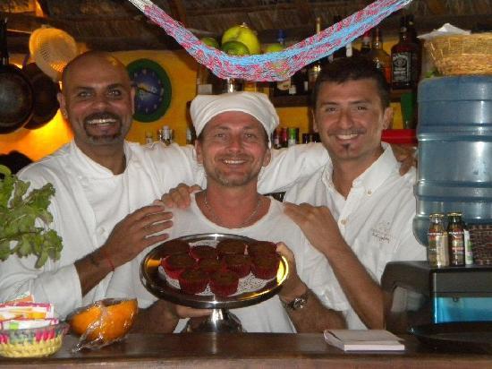Casa Nostra Roof Restaurant : gli chef