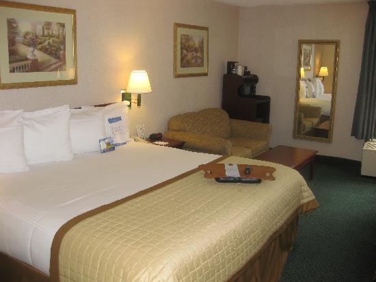 Baymont Inn & Suites Bloomington: King Sofa Room