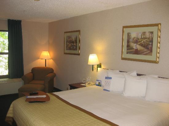 Baymont Inn & Suites Bloomington: King Room