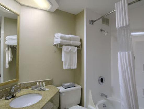 Baymont Inn & Suites Bloomington : Guest Room Bath
