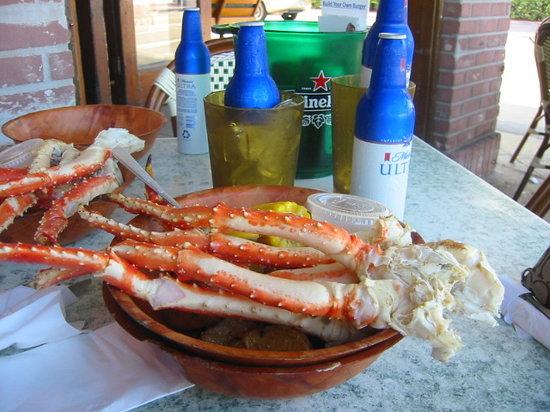 Margarita Cantina Crab And Seafood House Alaskan King Legs Beers