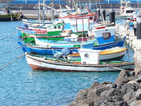 XQ El Palacete : Hafen in ca. 500 m Entfernung