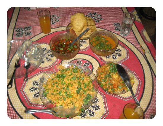 Tarah Homestay and Guest House : one of many amazing meals