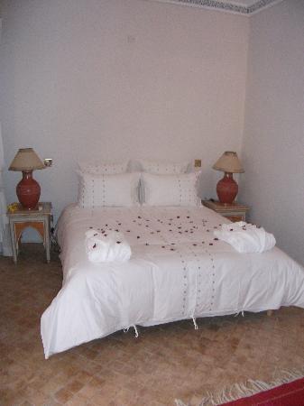 Riad Anais : notre chambre