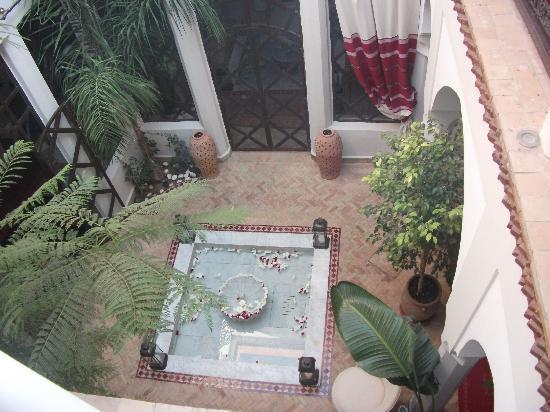 Riad Anais : vue sur la cour