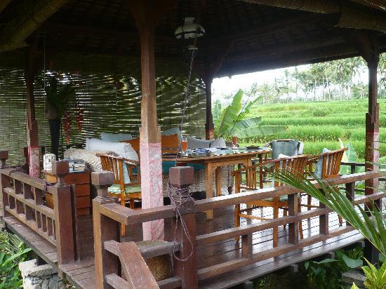 Villa Orchid Bali: Das Frühstücksbalé