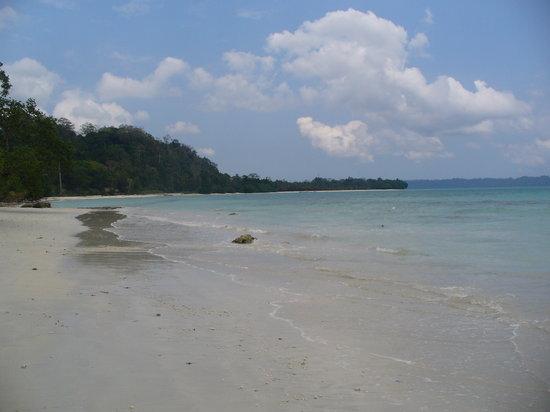 Havelock Island, India: beach photo
