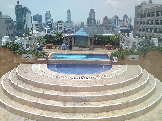 Zenith Sukhumwit Hotel Bangkok: Rooftop pool