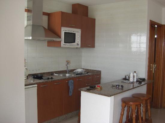 Apartamentos Villa Canaima: Kitchen area