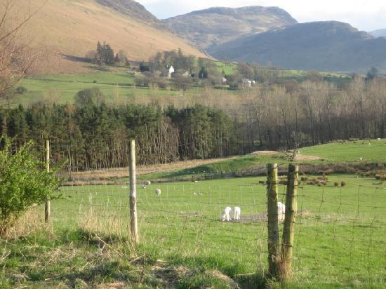 Swinside Farmhouse: View from outside the farmhouse