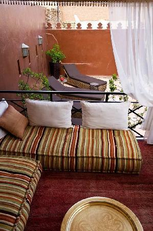 Riad Argan : Elevated rooftop lounges