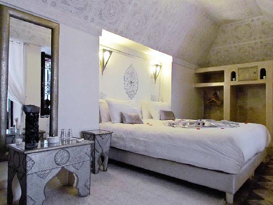 Riad Argan: Our bedroom