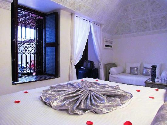 Riad Argan: Each room has a window to the courtyard