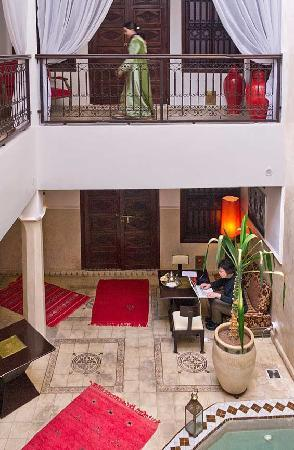 Riad Argan: Our room was downstairs