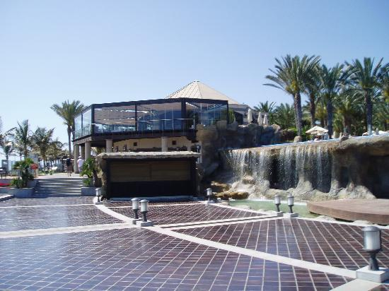 Lopesan Costa Meloneras Resort, Spa & Casino: A la carte restaurant (from the prom)
