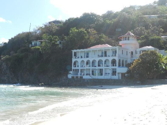 view of Sterling House from Long Bay