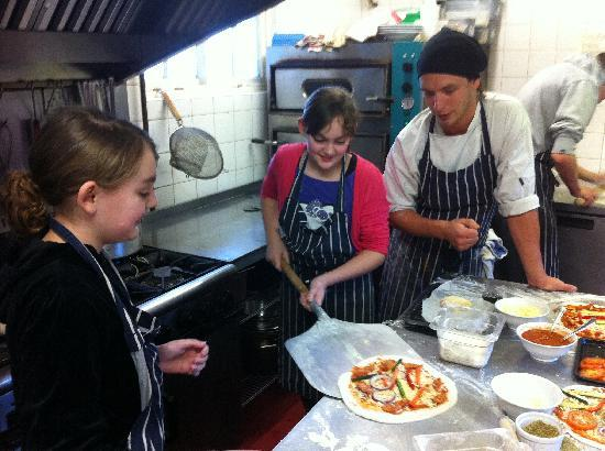 The Willow Tree: Pizza making on a school holiday afternoon