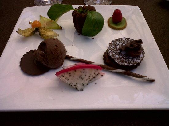 Restaurant l'Entree du Jardin : Dessert succulent