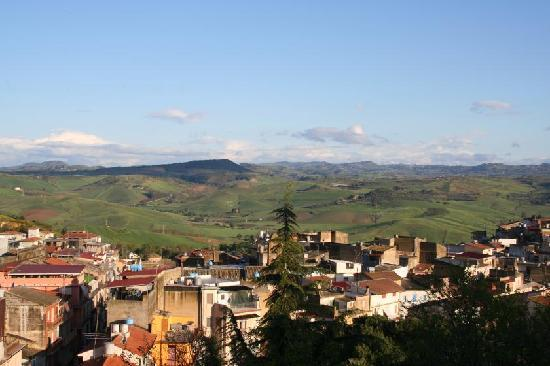 San Michele di Ganzaria, Italy: Aussicht vom Hotelzimmer