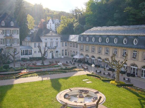 Kurhotel Fuerstenhof : Blick aus dem Zimmer in den Fürstenhof