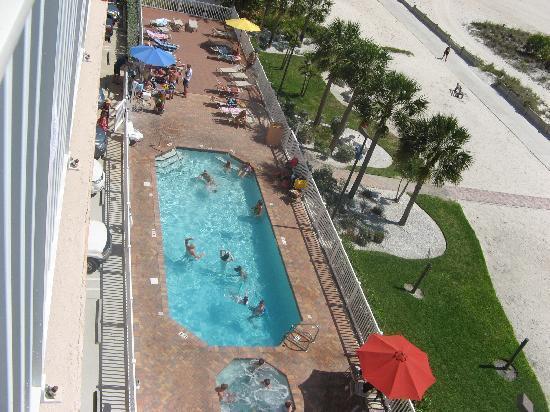 Pool Area Surf Beach Resort Treasure Island