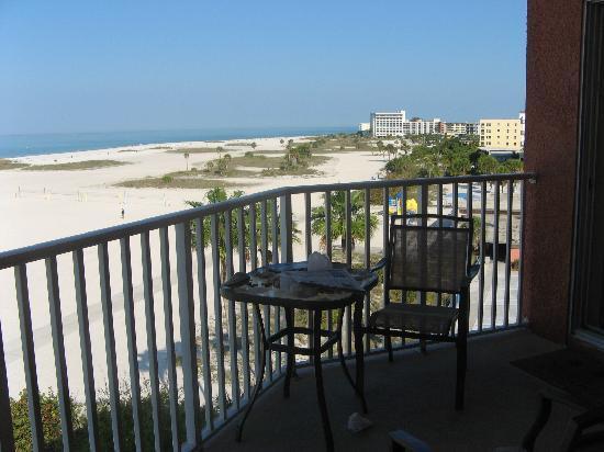 Another View Of Balcony Surf Beach Resort Treasure Island Fl