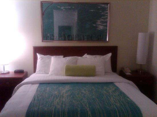 SpringHill Suites Dallas Arlington North: Bed