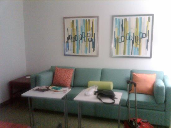 SpringHill Suites Dallas Arlington North: Sitting area