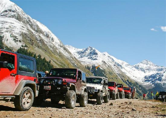 Ouray, CO: Engineer Pass, Jeeping Capital, USA(photo:  K. Scheidegger)