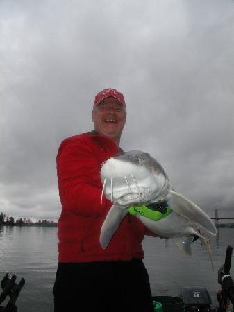 Chilliwack, Kanada: Sturgeon Fishing