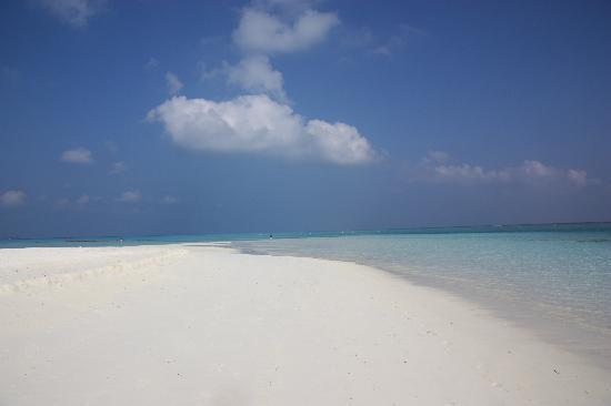 Meeru Island Resort & Spa: coin perdu